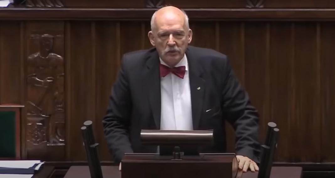 Janusz Korwin-Mikke znów ocenzurowany